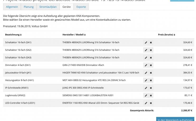 v1.13.0: Gerätelisten und Kostenkalkulation